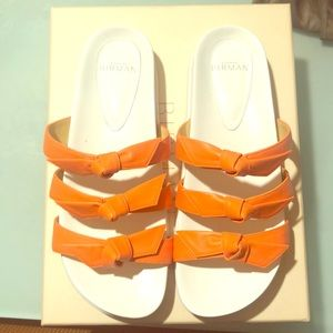 Alexandre Birman Lolita Bow Slide Sandal